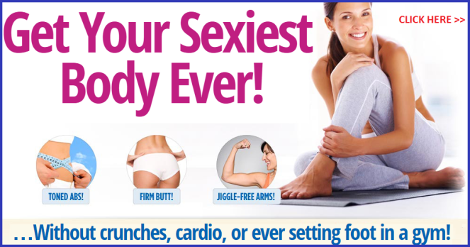 Get Sexiest Body Without Crunches Cardio or Gym - with Yoga