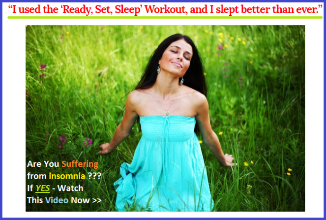 Natural technique to cure your insomnia